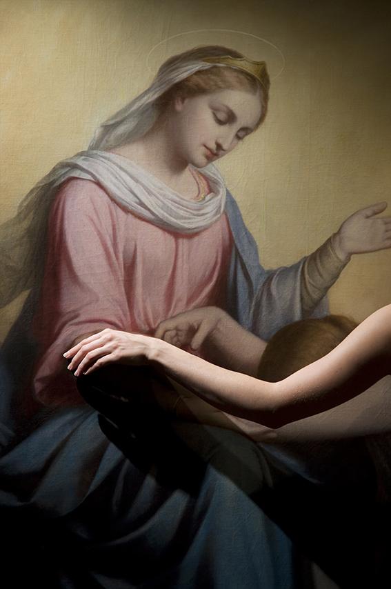 Les Litanies de la Vierge par Auguste Legras (huile sur toile, XIXe siècle). 2012. Musée de la Vie romantique/Paris Musées-Musée de la Ville de Paris