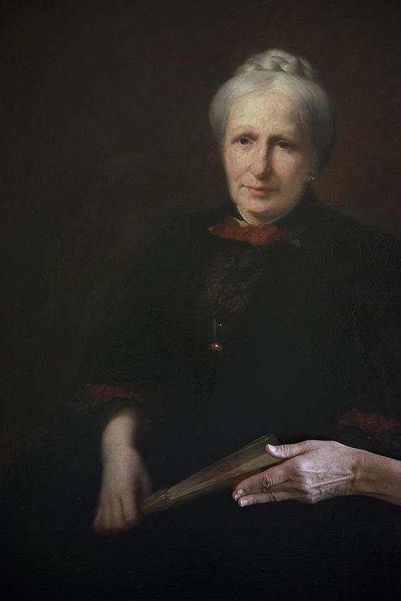 Retrato da S. M. Imperatriz do Brasil, Teresa Cristina de Bourbon-Siciles, Françoise. Museu Imperial/Ibram/MinC/2015