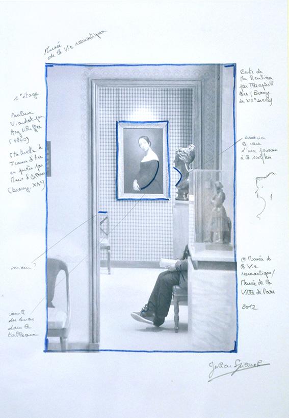 Etude, musée de la Vie romantique (Paris). 2012