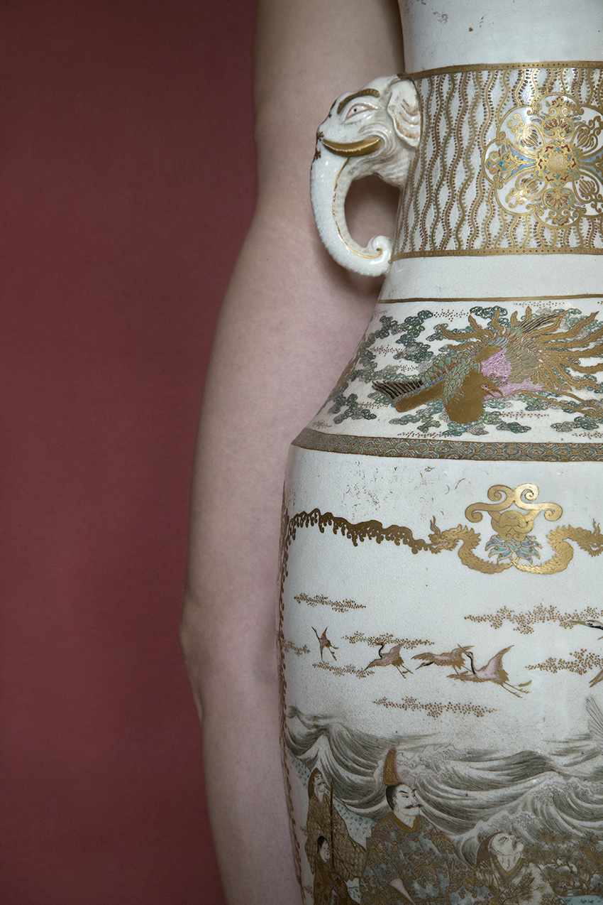 Vase brûle-parfums, grès, Japon, 2e moitié du XIXe siècle, Carole, Musée Ariana – Ville de Genève. 2018