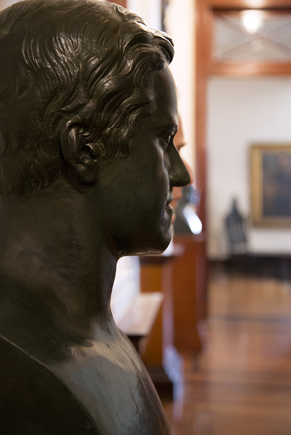 Dom Pedro II, Imperador adolescente, busto de bronze, Julien. Museu Imperial/Ibram/MinC/2015