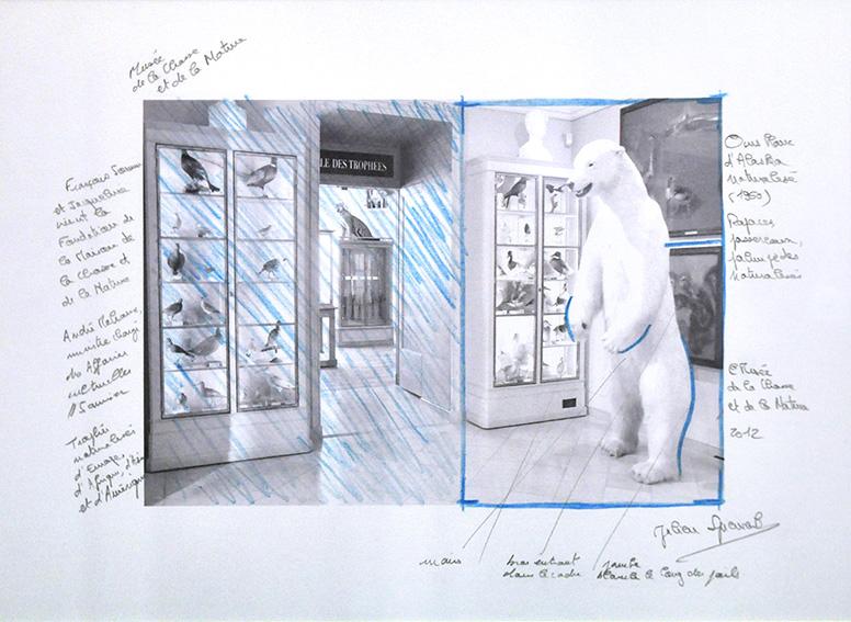 Etude, musée de la Chasse et de la Nature (Paris). 2012