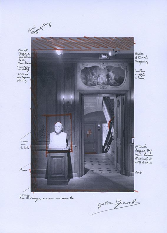 Etude, musée Cognacq-Jay (Paris). 2016