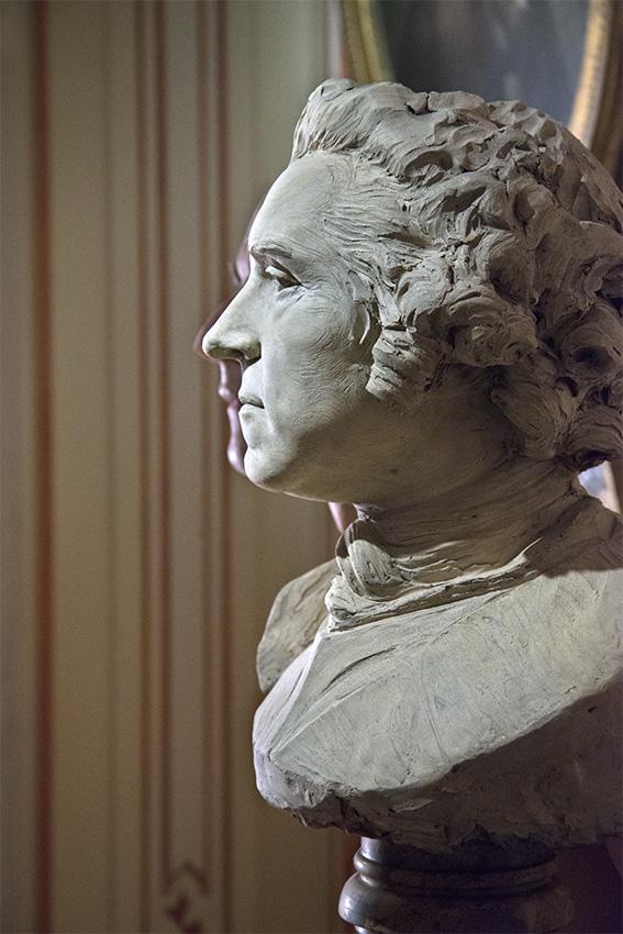 Buste du maréchal de France Hermann-Maurice, comte de Saxe et duc de Courlande, dit le Maréchal de Saxe (1747), Julien. Paris, Musée Cognacq-Jay. 2016
