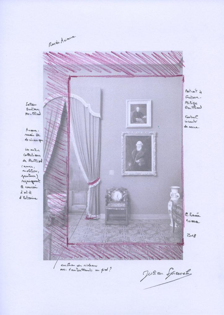 Julien Spiewak, Musée Ariana