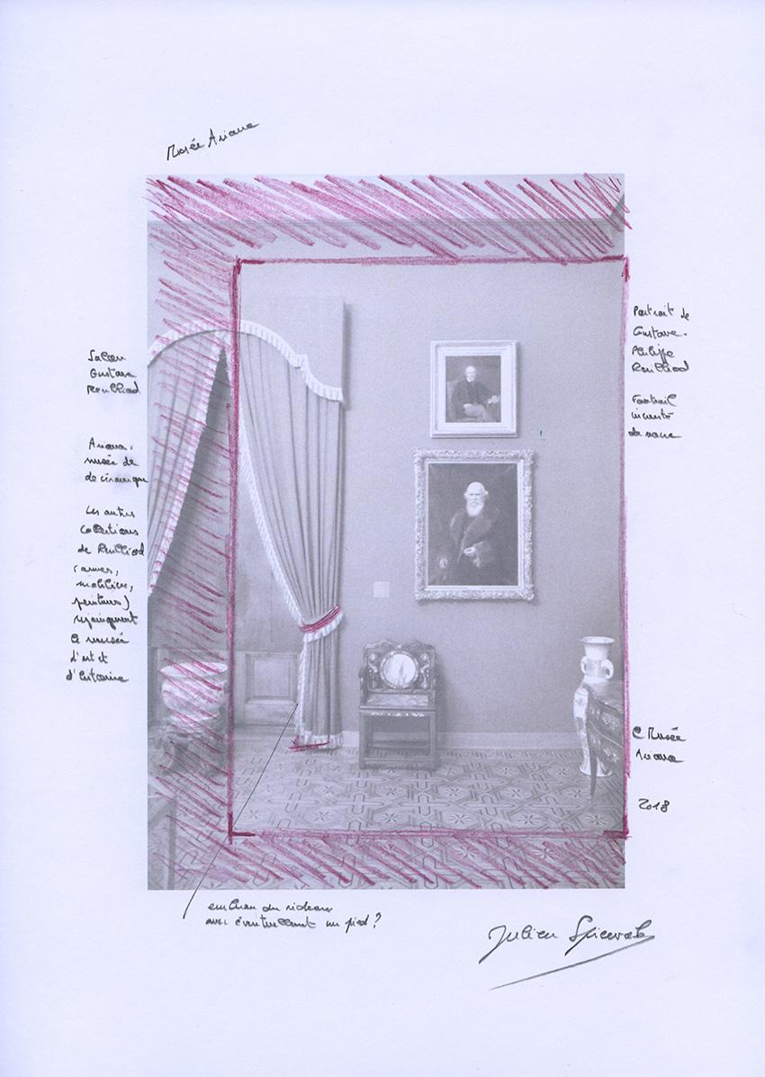 Etude, musée Ariana (Genève). 2018