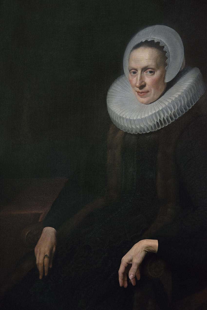 Portrait of Anna Ruychaver by Michiel van Mierevelt (1623), Philippa. Museum Van Loon. 2018