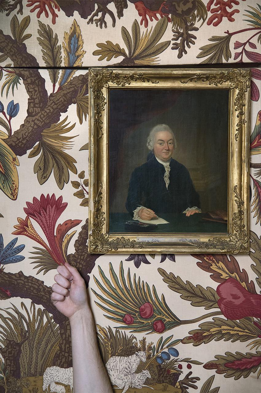 Portrait of Jan van Loon sr. by Louis Bernard Coclers (1779), Julien. Museum Van Loon. 2018